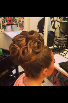 Awesome Hair up design.