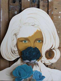 "Saatchi Art Artist Colin McMaster; Painting, ""Flo"" #art"