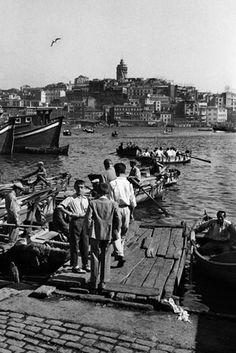 ✿ ❤ Perihan ❤ ✿ Turkey. Istanbul, 1950s // by Ara Guler