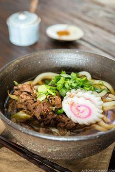 Beef Udon (Niku Udon) | Easy Japanese Recipes ALSO DASHI JustOneCookbook.com