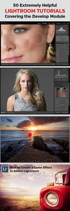 50 Extremely Helpful Lightroom Tutorials Covering the Develop Module | ThePhotoArgus.com | #photography #lightroom