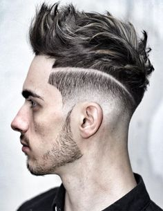 Popped-Up Blowout Hairstyles Men 2017