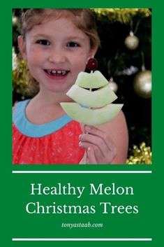 Healthy Melon Christmas Tree Snack for Kids | Tonya Staab Beauty Over 40, Beauty And The Best, Fruit Christmas Tree, Christmas And New Year, Holiday Snacks, Holiday Recipes, Inside Out Movie Characters, Make Paper Beads, Shirt Makeover