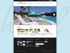 Web Hotel Playa Canet - Inicio #diseñoweb #paginasweb #DiseñadorWebValencia #DiseñadorWeb