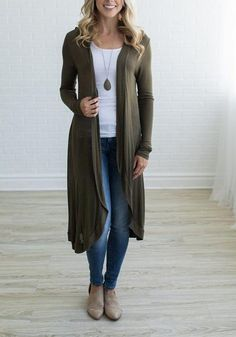 2017 Autumn Women Long Shirts Long Sleeve Irregular Shirt Outwear Blouses Cardigan Loose Plus Size Blusas Shirt Female Green Cardigan Outfit, Cardigan Casual, Maxi Cardigan, Cardigan Outfits, Casual Outfits, Long Cardigan, Work Outfits, Summer Outfits, Outfits Mujer