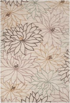 """Surya Ameila AME-2210 Papyrus Floral Rug (5'x7'6"""")"""