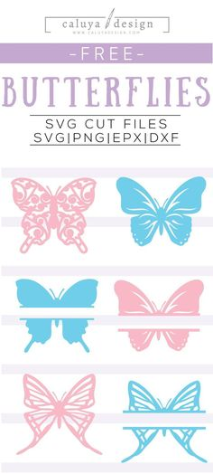 FREE butterfly printable Vector Clipart & SVG cut files download. You can download SVG, PNG, DXF & EPS formats, 100% free for personal use. Perfect for Craft, DIY project, Planner stickers, printable stickers, Cameo Silhouette & Cricut DIY projects, Card Making, Invitation designing, wall art, wall decor, wall decal, nursery decorations and many more! Free butterfly SVG cut file, free butterfly monogram SVG, Free SVG Cut File