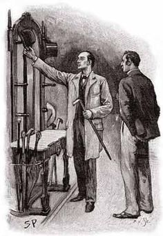 Doyle - The Adventure of The Crooked Man : Sherlock Holmes Sherlock Holmes Short Stories, Adventures Of Sherlock Holmes, Detective, Arthur Conan Doyle, Sir Arthur, Crooked Man, Elementary My Dear Watson, Fictional Heroes, Jeremy Brett