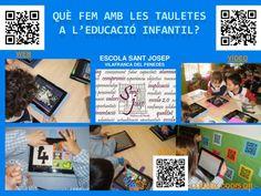 Experiencia de l'Escola Sant Josep en el trabajo con tablets en E.Infantil. Orientaciones, contenidos, objetivos y apps. #tablets #educación #apps #planificar