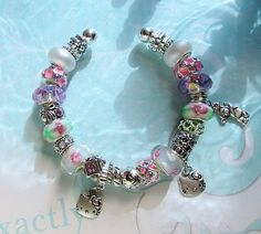 Free: Very Colorful & Sparkly Hello Kitty Euro Bracelet from JewelsnJems - Bracelets Pink Jewelry, Cute Jewelry, Jewelry Ideas, Beaded Jewelry, Handmade Jewelry, Hello Kitty Jewelry, Hello Kitty Collection, Glitz And Glam, Kitty Kitty