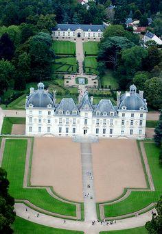 Cheverny castle - Loire Valley, het Kuifje kasteel, met complete Tintin tentoonstelling