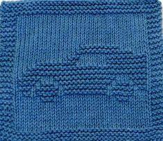Large Knitting Cloth Pattern CORVETTE PDF by ezcareknits on Etsy