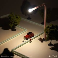 Every Day for Four Years: This Artist Builds Quirky Dioramas from Household Items