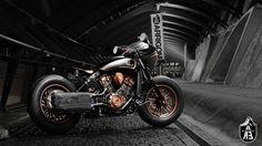 "Indian Bobber "" I am legend"" by Arrigoni Sport GmbH  #motorcycles #bobber #motos   caferacerpasion.com"