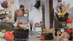 U nás na kopečku: podzimně, barevně Ladder Decor, Table Decorations, Label, Furniture, Search, Home Decor, Decoration Home, Room Decor, Searching