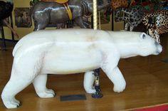 St. Louis Zoo Carousel  Polar Bear