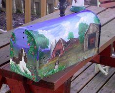 farm scene mailboxes | Share