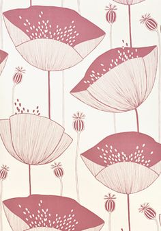 Poppy Blush Wallpape