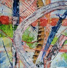 Abstract, schilderij van Krist | Abstract | Modern | Kunst