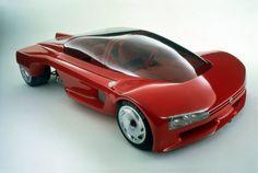 Peugeot Proxima: Die futuristische Flunder wurde von Peugeot 1986 auf dem...
