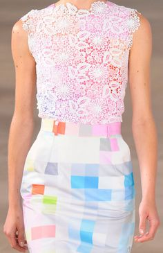 Preen Lace & Pastel Print from Spring/Summer 2012 collection