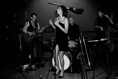 Alanna & These Fine Gentlemen live at Warner Bros Lot Photo by Tommy Foley