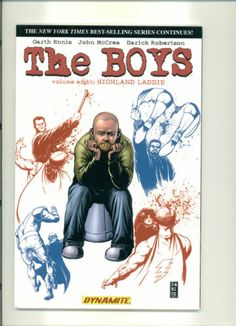 The Boys Volume 8: Highland Laddie Softcover Graphic Novel by Dynamite FREE S/H!