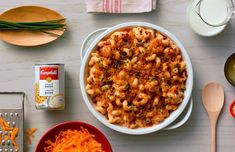 Macaroni au fromage et bacon - Cuisinez avec Campbells Bacon Mac And Cheese, Bacon Soup, Creamy Chicken Carbonara, Chicken Penne Recipes, Cheese Recipes, Cooking Recipes, Campbells Soup Recipes, Lard, Quick Meals