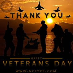 THANK YOU to all who have served and continue to serve