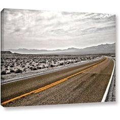 Mark Ross Slow Curves Gallery-Wrapped Canvas Art, Size: 18 x 24, White