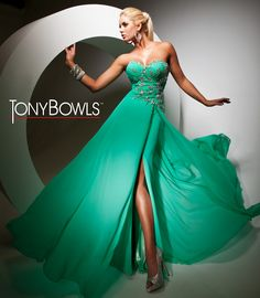 8077e681796d 10 Best tony bowl gala dress images in 2013 | Evening Gowns, Formal ...