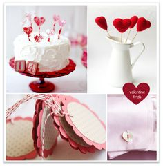 Valentine ideas, valentine decorations