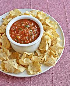 Versatile Vegetarian Kitchen: Quick and easy Salsa