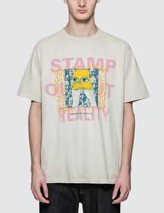 Brain Dead Stamp Out Reality S/S T-Shirt