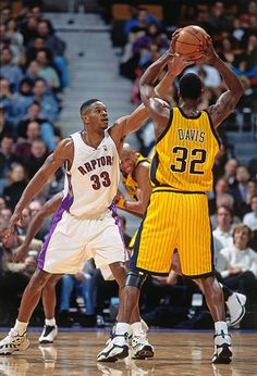 Toronto Raptors, Indiana Pacers, Nba, Antonio Davis
