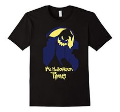 Mens It's Halloween Time Novelty Themed Holiday Tee Shirt...
