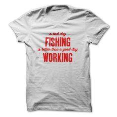 Fishing vs Work T-Shirts, Hoodies. ADD TO CART ==►…