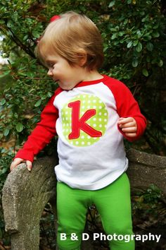 Personalized Christmas Shirt - Custom Holiday Shirt- You Choose Fabrics, Shirt Color and Sleeve Length. $19.00, via Etsy.