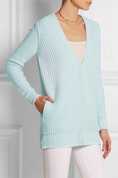 Richard Nicoll|Chunky-knit cotton cardigan|NET-A-PORTER.COM