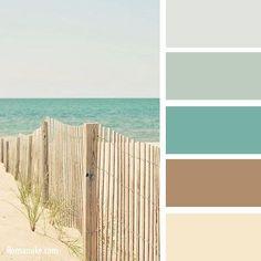 Цветосочетание. Голубой и коричневый. | biser.info - всё о бисере и бисерном творчестве