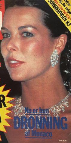 Princess Caroline of Monaco. Red Cross Ball ,August,1983.