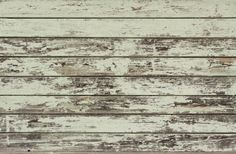 You could also go with reclaimed wood with a chipped paint finish