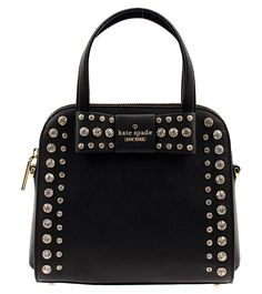 Kate Spade New York Davies Mews Small Merriam Satchel Crossbody (This is an affiliate pin) Leather Satchel Handbags, Satchel Purse, Leather Purses, Crossbody Bag, Metallic Handbags, Blue Handbags, Prada Handbags, Bow Purse, Kate Spade Handbags