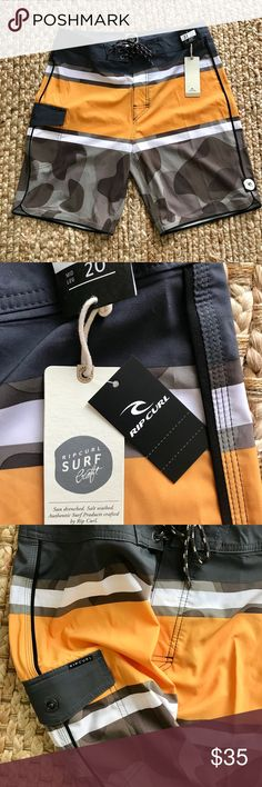 NWT-Ripcurl Board Shorts Men's Ripcurl Surfcraft Board shorts that have never been worn, tags still attached. Pillaging my son's closet now. Sz 31. Ripcurl Swim Board Shorts