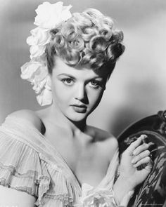 One of the most amazing actresses EVER! Angela Lansbury! (my wedding hair-do)