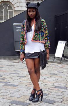 London Fashion Week SS14 #streetstyle