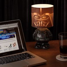 Darth Vader Desk Lamp