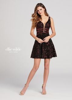 ea6589c1bd Ellie Wilde EW21827S - Sister dress to style EW21826S
