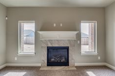 Picturesque Fireplace