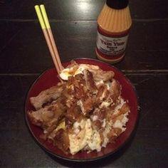 Japanese-Style Crispy Fried Pork Bowl (Tonkatsu Donburi) - Allrecipes.com